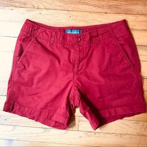 "Eddie Bauer like new hiking shorts- 5"" inseam"